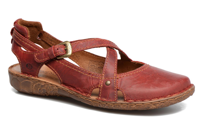 Sandaler Josef Seibel Rosalie 13 Rød detaljeret billede af skoene