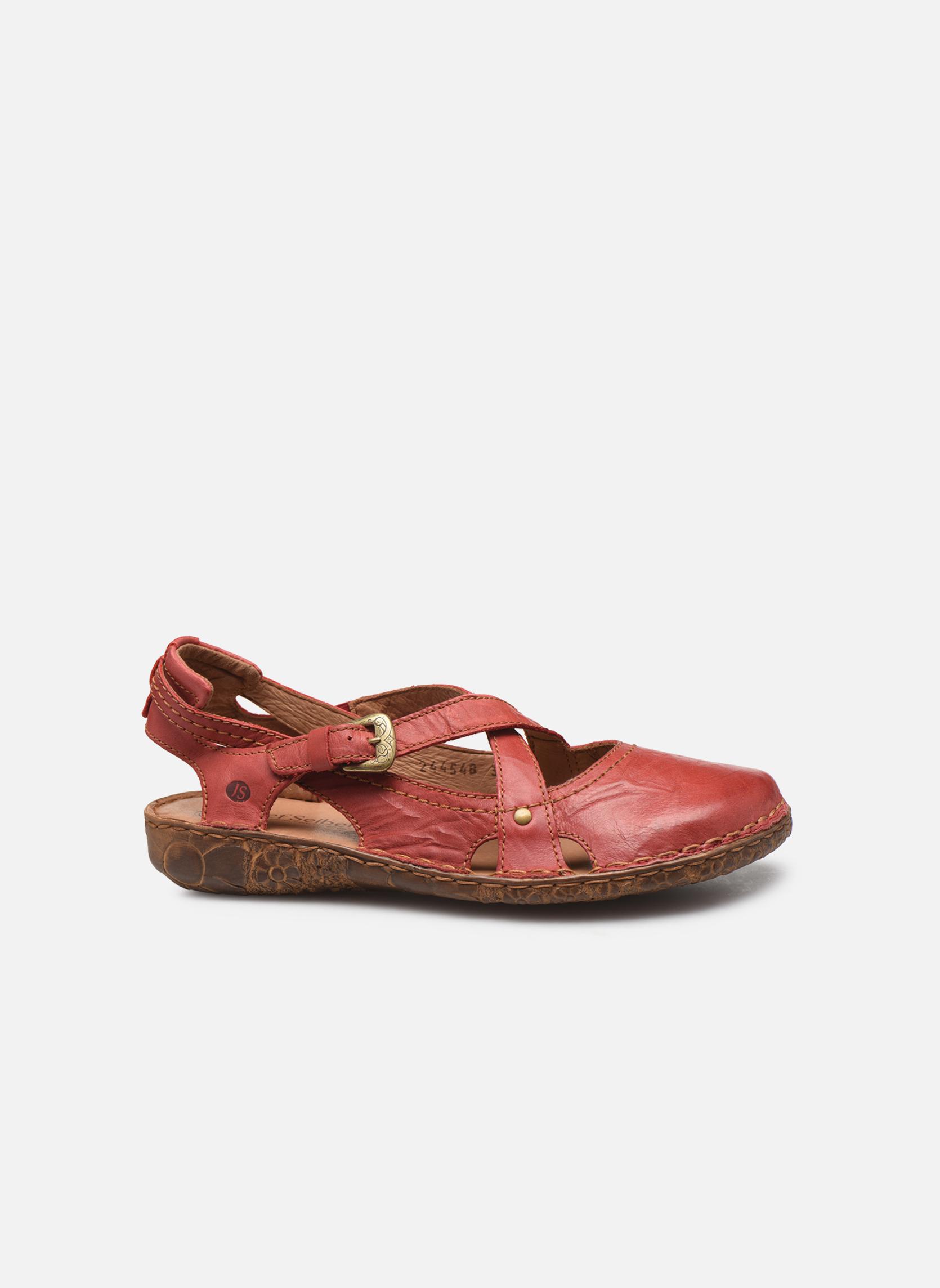 Sandals Josef Seibel Rosalie 13 Red back view