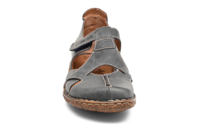 Sandales et nu-pieds Josef Seibel Rosalie 21 Bleu vue portées chaussures
