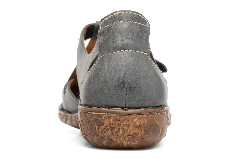 Sandales et nu-pieds Josef Seibel Rosalie 21 Bleu vue droite