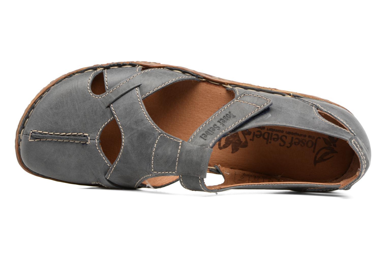Sandales et nu-pieds Josef Seibel Rosalie 21 Bleu vue gauche