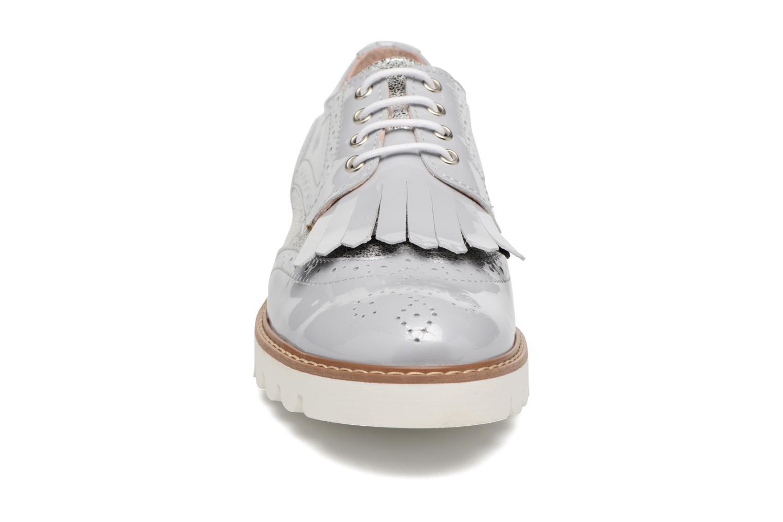 Chaussures à lacets Acebo's Laura Gris vue portées chaussures