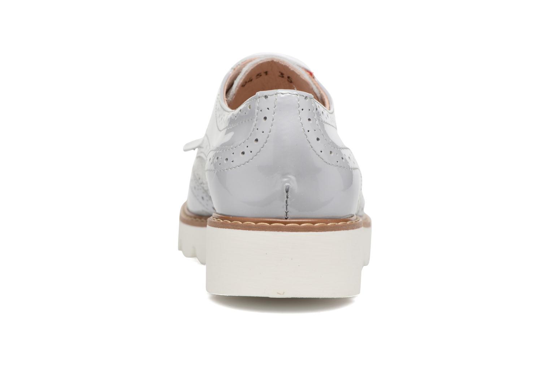 Chaussures à lacets Acebo's Laura Gris vue droite