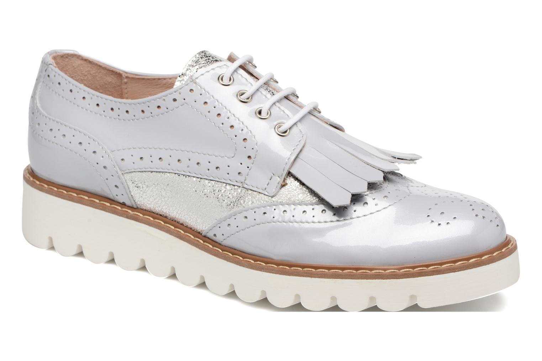 Chaussures à lacets Acebo's Laura Gris vue détail/paire