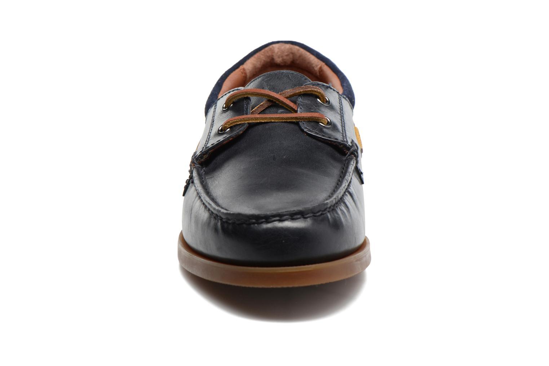 Chaussures à lacets Polo Ralph Lauren Dayne-Shoe-Casual Bleu vue portées chaussures