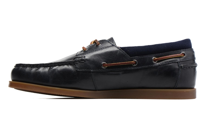 Chaussures à lacets Polo Ralph Lauren Dayne-Shoe-Casual Bleu vue face