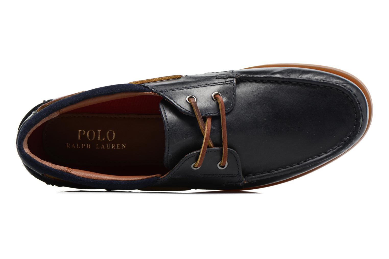 Chaussures à lacets Polo Ralph Lauren Dayne-Shoe-Casual Bleu vue gauche