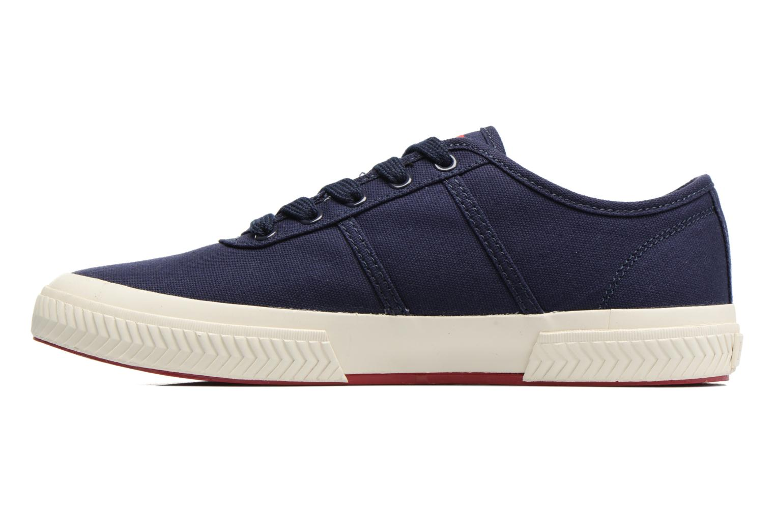 Baskets Polo Ralph Lauren Tyrian-Ne-Sneakers-Vulc Bleu vue face