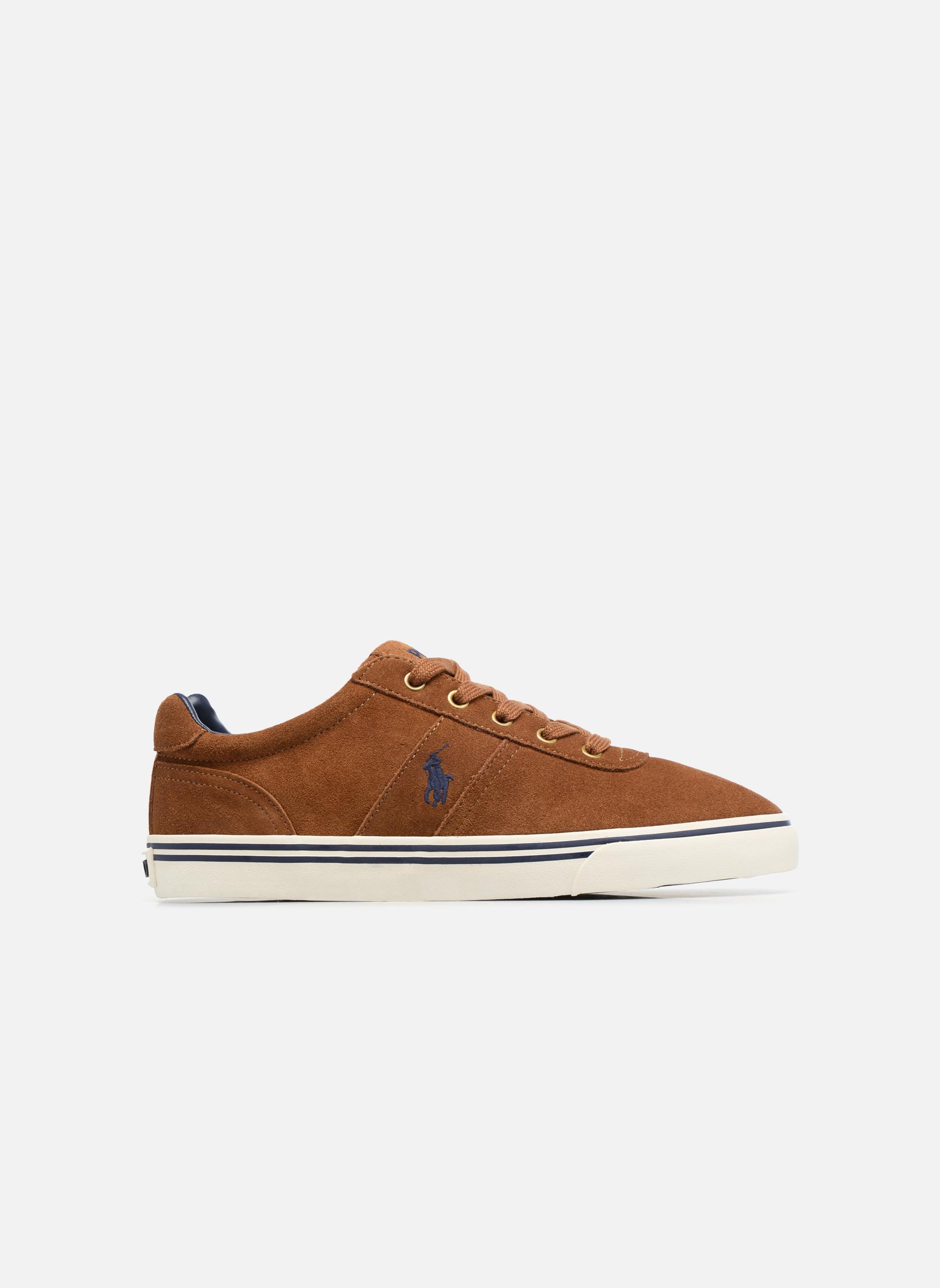 Baskets Polo Ralph Lauren Hanford-Sneakers-Vulc Marron vue derrière