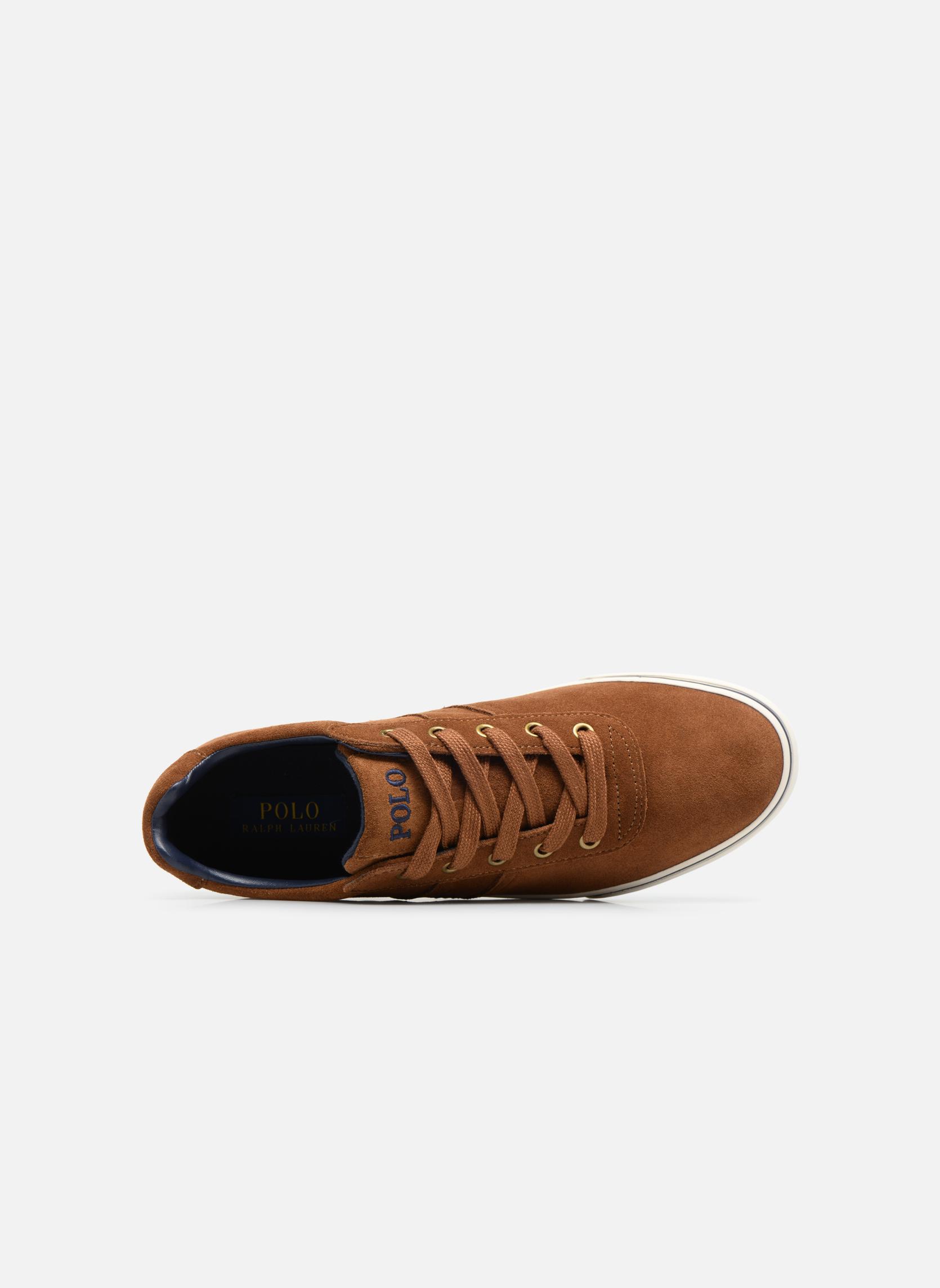 Baskets Polo Ralph Lauren Hanford-Sneakers-Vulc Marron vue gauche