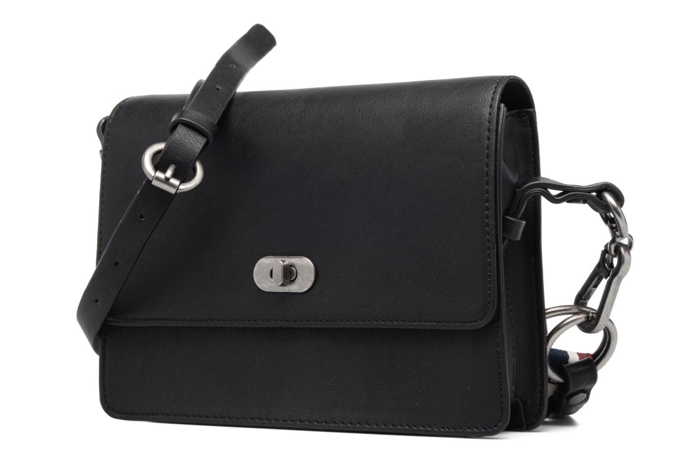 Sacs à main Esprit London Small Shoulderbag Noir vue portées chaussures