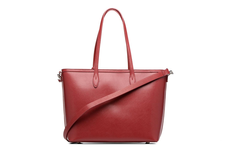 Saffiano Shopper Dark Red