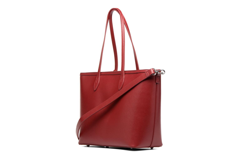Sacs à main Esprit Saffiano Shopper Rouge vue droite