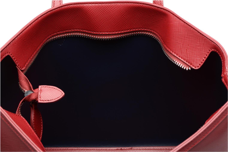 Sacs à main Esprit Saffiano Shopper Rouge vue derrière