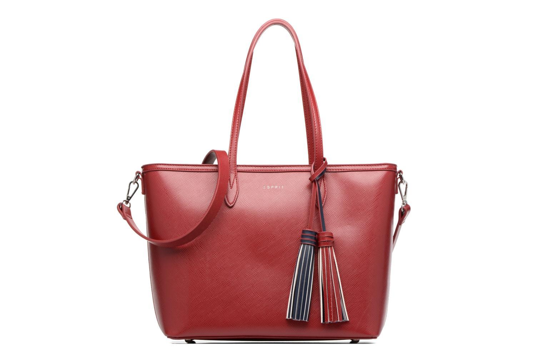 Sacs à main Esprit Saffiano Shopper Rouge vue détail/paire