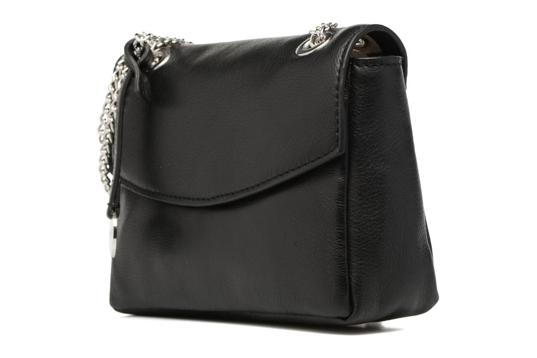 Sacs à main Esprit Chain leather Noir vue portées chaussures