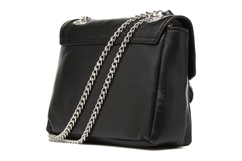Sacs à main Esprit Chain leather Noir vue droite