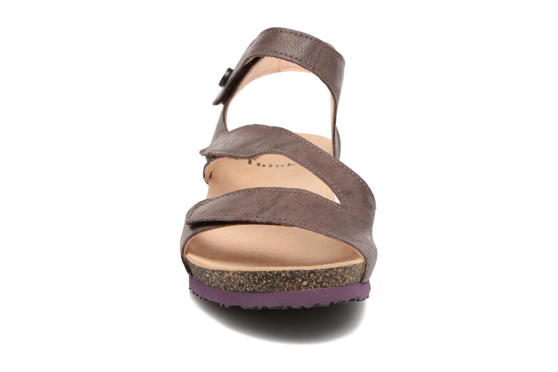 Sandales et nu-pieds Think! Dumia 80370 Violet vue portées chaussures