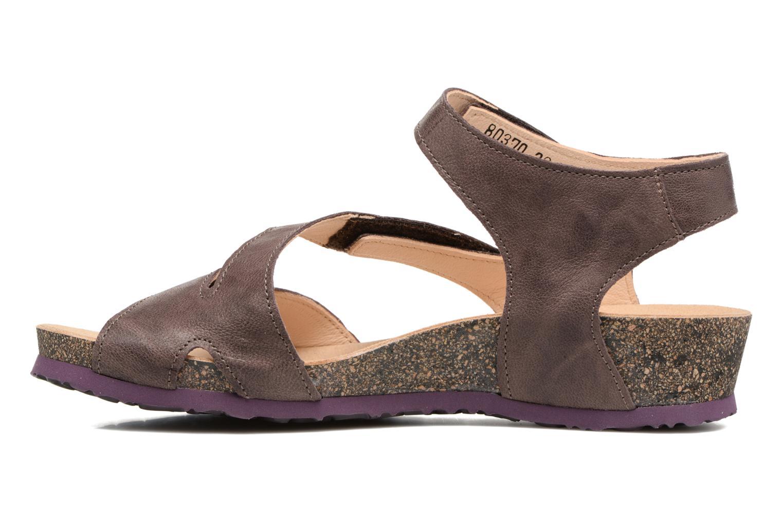 Sandales et nu-pieds Think! Dumia 80370 Violet vue face