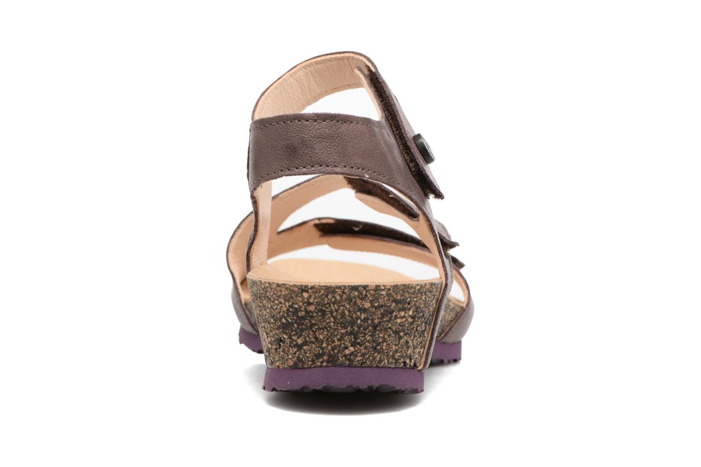 Sandales et nu-pieds Think! Dumia 80370 Violet vue droite