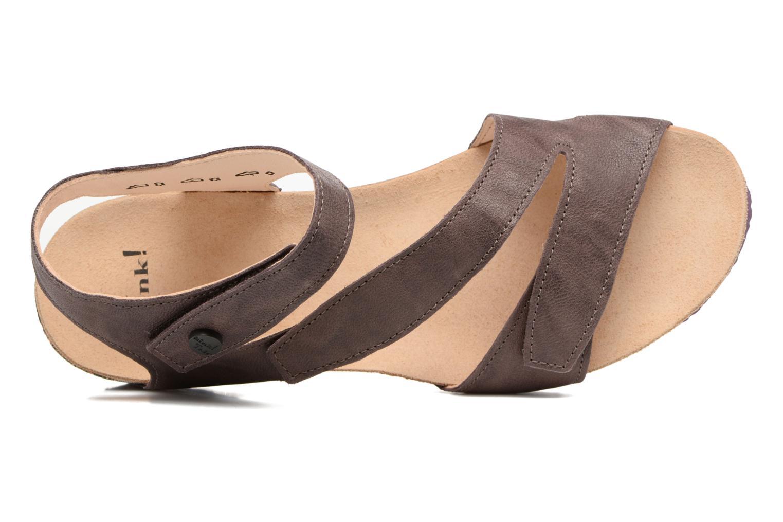 Sandales et nu-pieds Think! Dumia 80370 Violet vue gauche