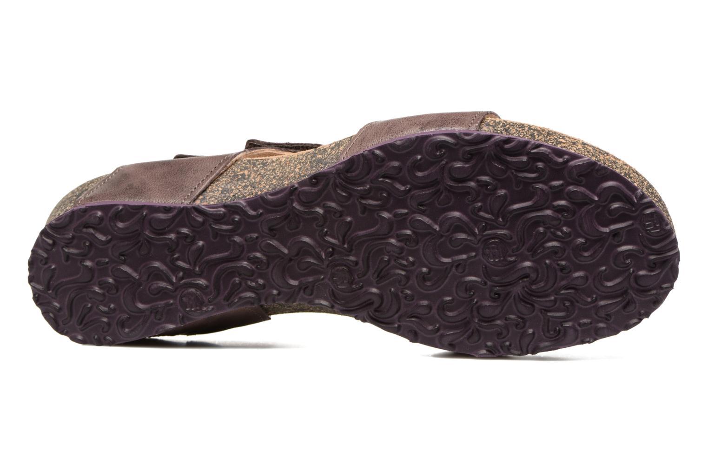 Sandales et nu-pieds Think! Dumia 80370 Violet vue haut