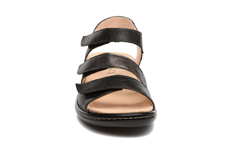 Sandales et nu-pieds Think! Camilla 80434 Noir vue portées chaussures