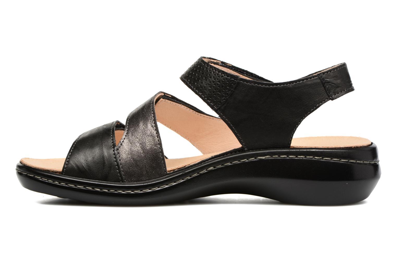 Sandales et nu-pieds Think! Camilla 80434 Noir vue face