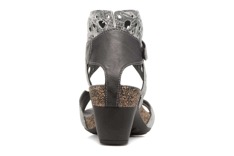 Sandales et nu-pieds Think! Traudi 80579 Gris vue droite