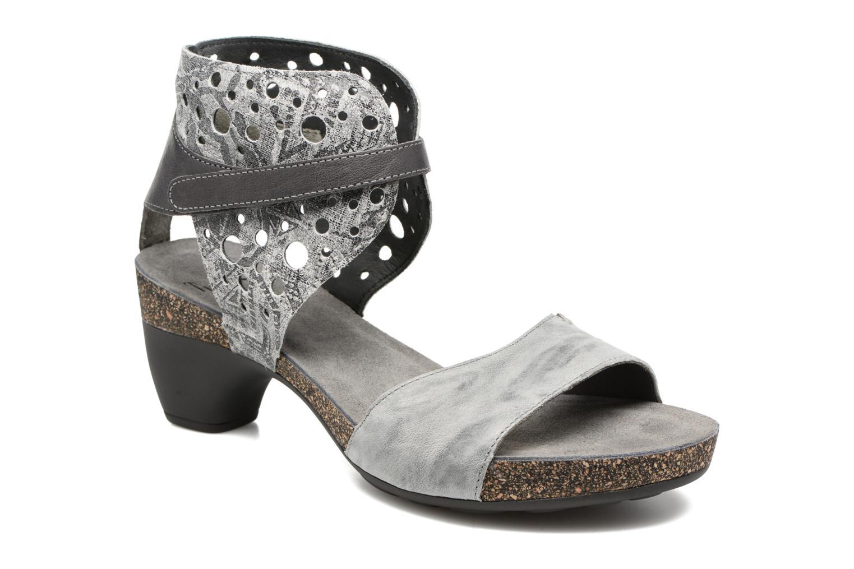 Sandales et nu-pieds Think! Traudi 80579 Gris vue détail/paire
