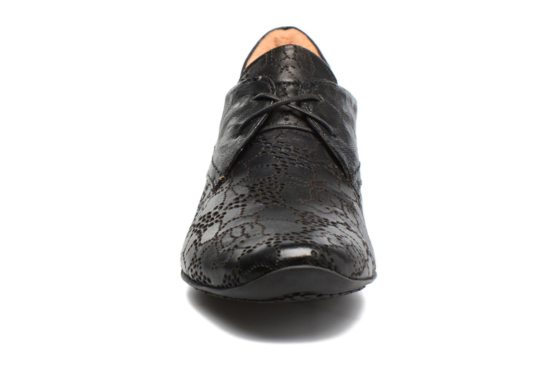 Chaussures à lacets Think! Chili 80102 Noir vue portées chaussures