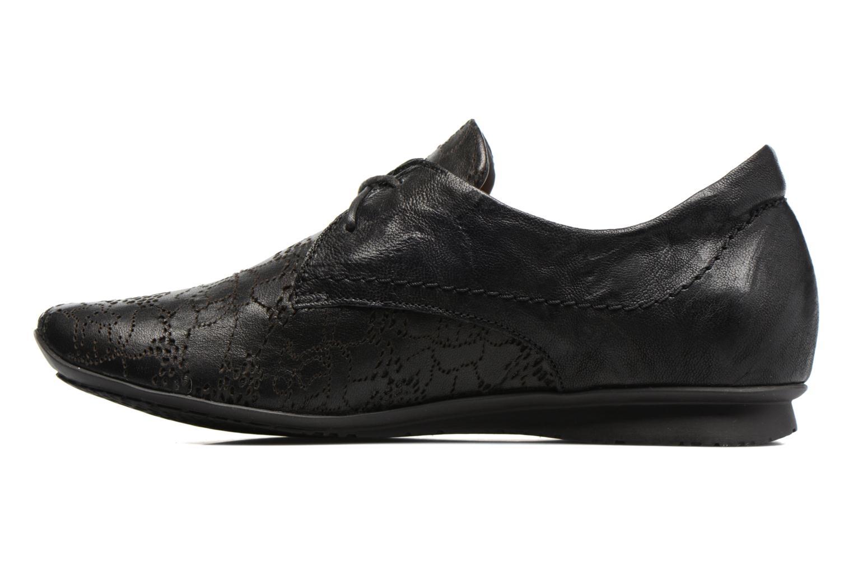 Chaussures à lacets Think! Chili 80102 Noir vue face