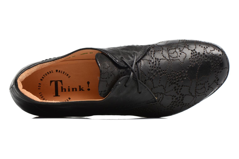 Chaussures à lacets Think! Chili 80102 Noir vue gauche