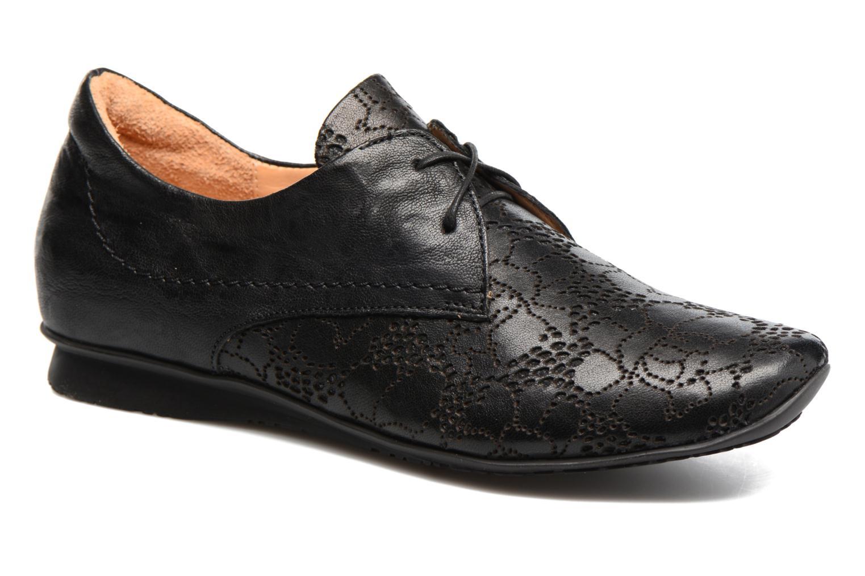 Chaussures à lacets Think! Chili 80102 Noir vue détail/paire