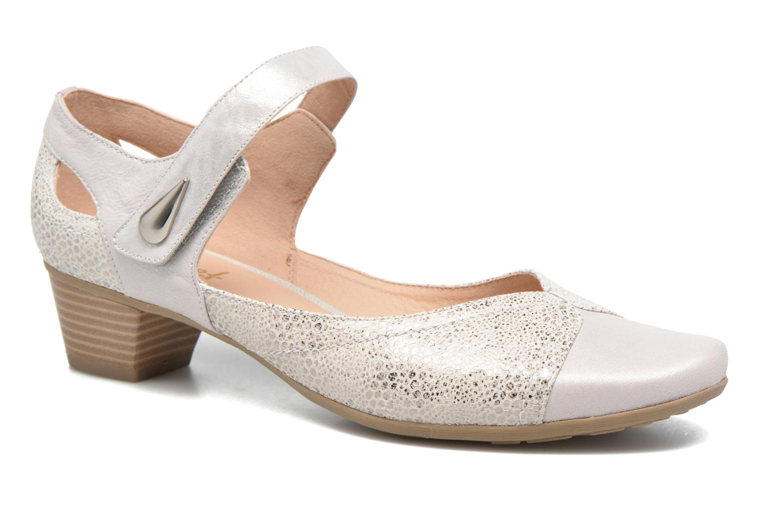 Sandals Sweet Dibou White detailed view/ Pair view