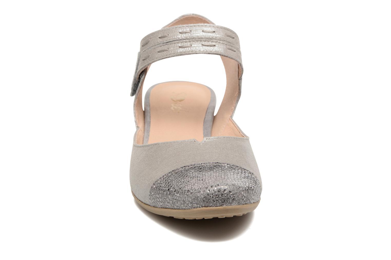 Sandales et nu-pieds Sweet Dimo Gris vue portées chaussures
