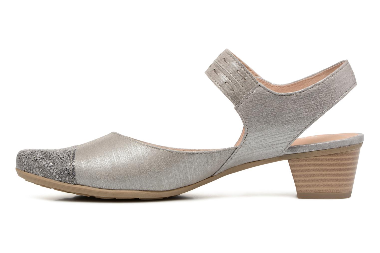 Sandales et nu-pieds Sweet Dimo Gris vue face