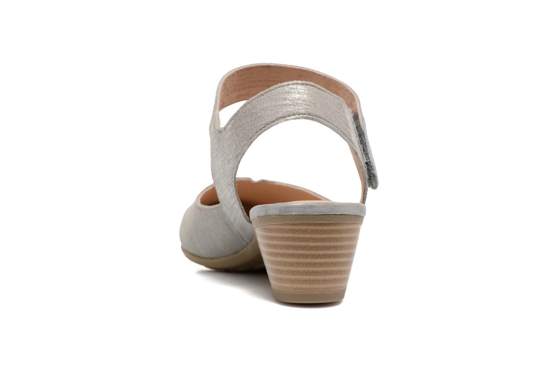 Sandales et nu-pieds Sweet Dimo Gris vue droite