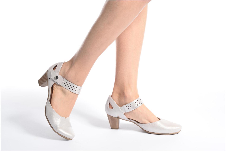 Sandales et nu-pieds Sweet Dozia Noir vue bas / vue portée sac