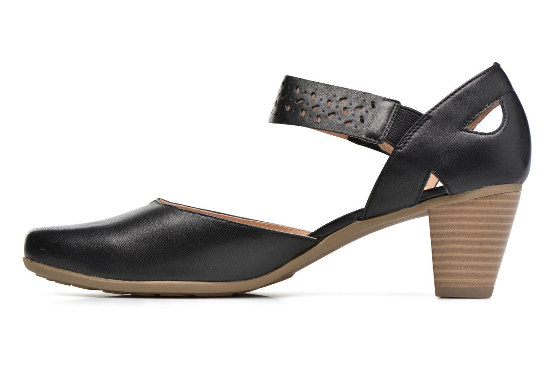 Sandales et nu-pieds Sweet Dozia Noir vue face