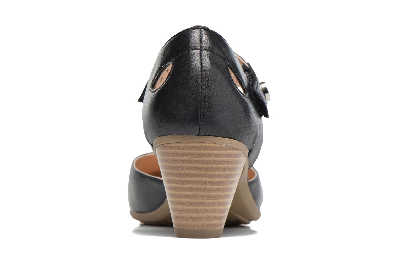 Sandales et nu-pieds Sweet Dozia Noir vue droite