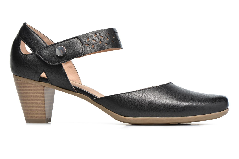 Sandales et nu-pieds Sweet Dozia Noir vue derrière