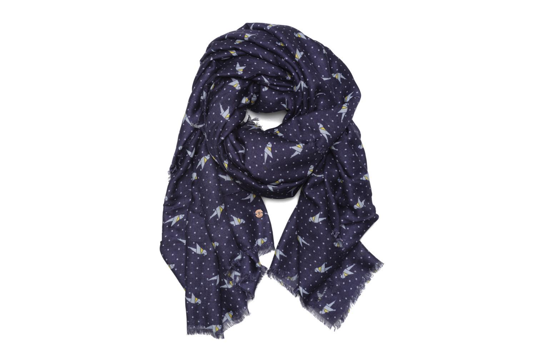 Divers Esprit Print stripes scarf 100x200 Bleu vue détail/paire