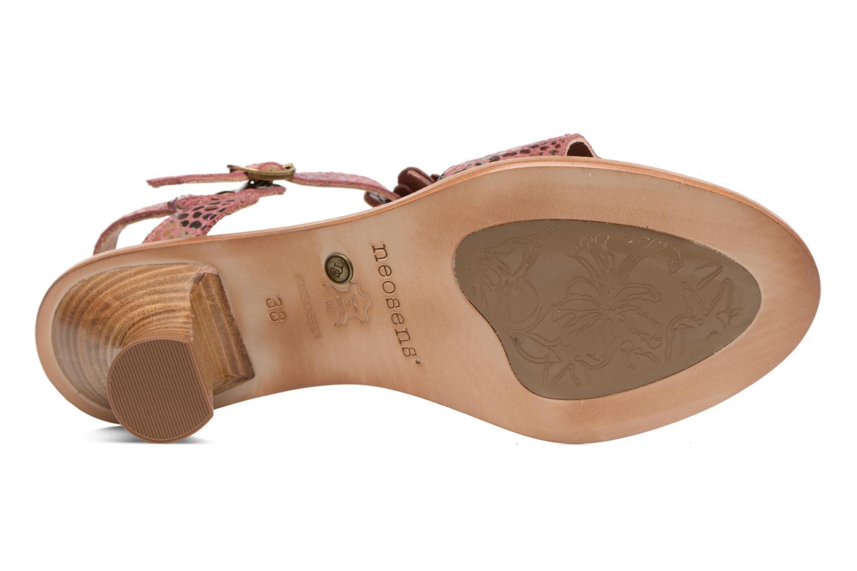 Sandales et nu-pieds Neosens Negreda S982 Rose vue haut