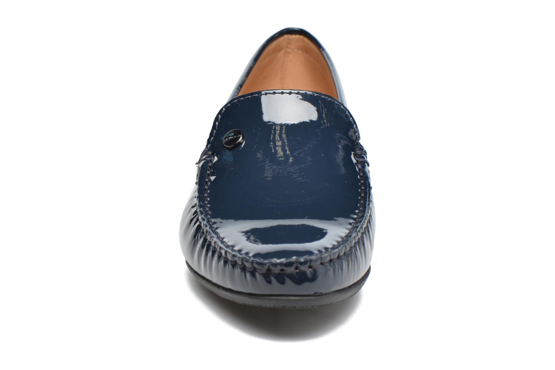 Mocassins JB MARTIN Tiphaine Bleu vue portées chaussures