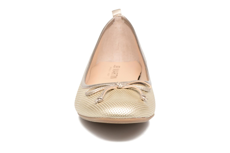 Ballet pumps JB MARTIN 1Miss Bronze and Gold model view