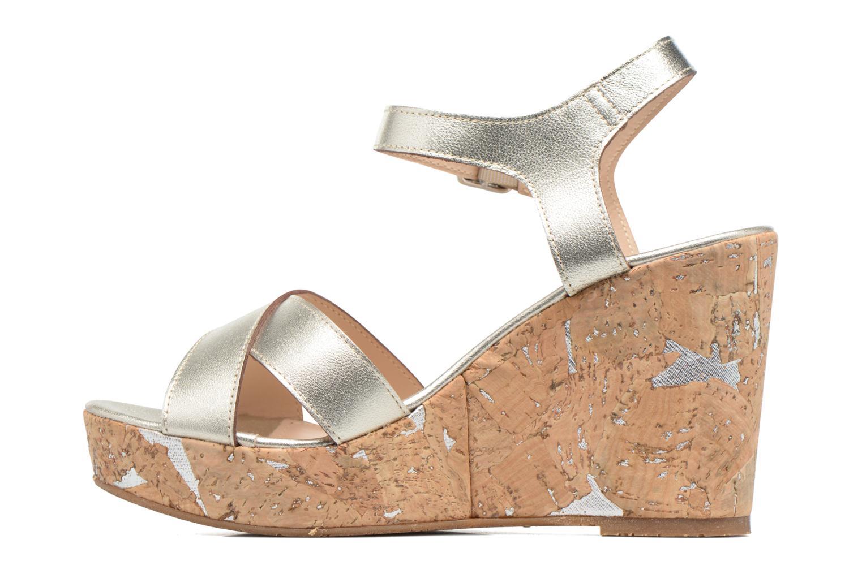 Sandales et nu-pieds JB MARTIN 2Ocelia Argent vue face
