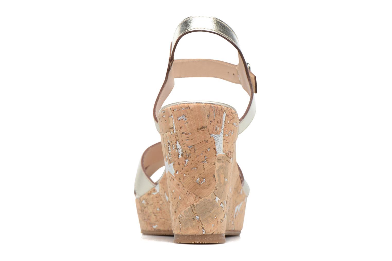 Sandales et nu-pieds JB MARTIN 2Ocelia Argent vue droite