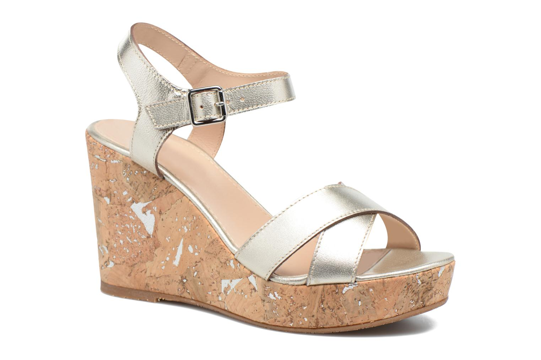 Sandales et nu-pieds JB MARTIN 2Ocelia Argent vue détail/paire