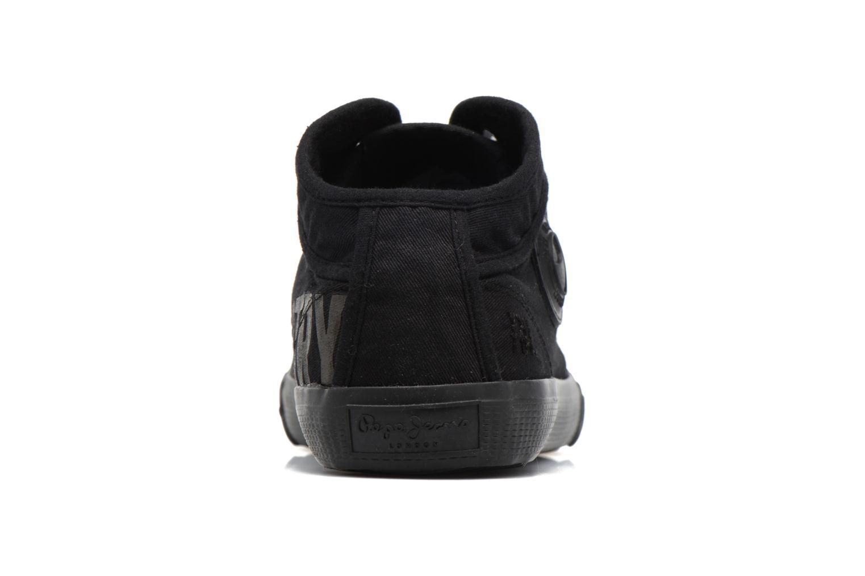 Baskets Pepe jeans Industry Routes Noir vue droite